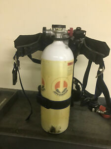 Survivair Sigma Scba Harness With 30 Minute Cylinder 2216 Psi