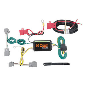 56207 Curt 4 way Flat Trailer Wiring Connector Harness Fits Cadillac Cts