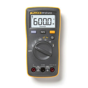 Fluke 107 Palm sized Digital Multimeter Handheld Portable Ac Dc Volts Meter