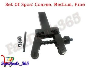 Set Of 3pcs Cnc Flexibale And Adjustable Knurling Tool Holder With Wheel c m f
