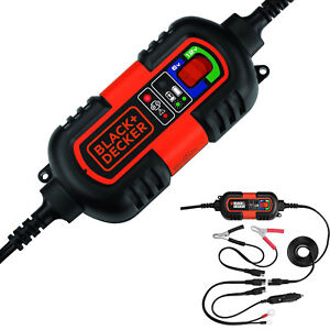 Car Rv Truck Motorcycle Battery Charger Maintainer 12v 6v Amp Volt Smart Trickle