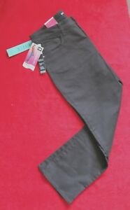 Lee Brown Jeans size 14 Petite Classic Fit Straight Leg at the waist