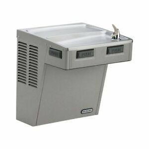 Elkay Emabfdl Ada Wall Mount Single Level Drinking Fountain With Mechanical Push