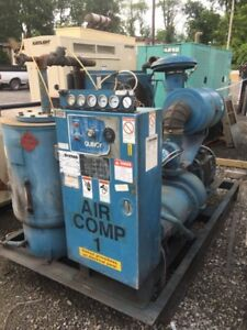 1990 Quincy Rotary Screw Air Compressor 39939 Si04ana2me 100hp 3phase 460 480 V