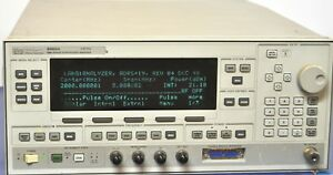 Agilent Keysight Hp 83622a 20ghz Synthesized Sweeper Signal Generator