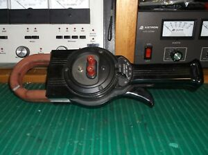 Weston Model 633 Ac Amp Meter Clamp On Working Condition