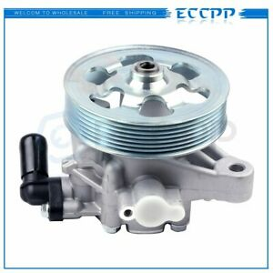 New Power Steering Pump W Pulley For Honda Accord 2008 2012 2 4l Dohc 21 5495