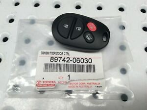 Genuine For Toyota Remote Pad Central Locking Camry Touring Sportivo 2006 2011
