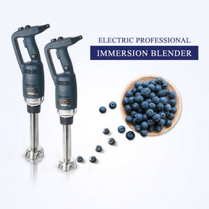 Commercial Immersion Blender Stainless Steel Hand Mixer Professional