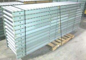 2 10ft 2 9ft Sections Hytrol 24 Wide Gravity Roller Conveyor 38ft Total