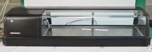 Hoshizaki Refrigerated Sushi Display Case Counter Showcase Cooler Hnc 120aa l