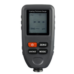 Lcd Digital Paint Coating Thickness Gauge For Material Surface Treatment A8k6