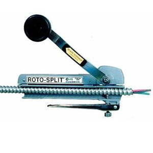Seatek Rs101a Roto split Super Bx mc Cable Armored Stripper Quick Clamping