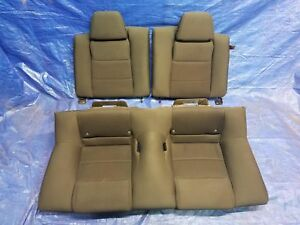 Coupe Cloth Black Rear Seat Ford Mustang 13 14 2013 2014