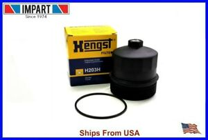 Bmw Oil Filter Housing Cover 11 42 7 521 353 Hengst H203h