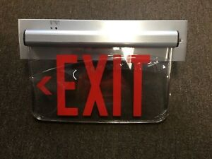 New Hubbell Dual Lite Led Exit Sign Lewsrlne