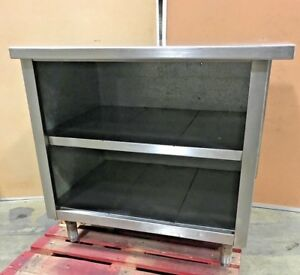 Stainless Steel Prep Table With 2 tier Shelving Commercial Work Table