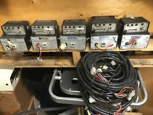 1 Federal Signal 80k Unitrol Amplifier Cable And 183k Switch Box Set