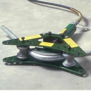 Greenlee 880 1 1 1 4 1 1 2 And 2 Rigid Conduit Bender W out Hydraulic Pump
