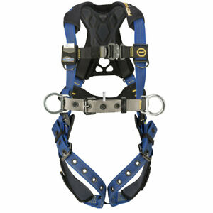 Werner H032104 Proform F3 Construction Harness Quick Connect Legs xl