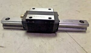 Thk Linear Guide Rail Bearing Block And Rail Hsr15 140mm Rail Length New
