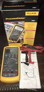 New Fluke 787 Processmeter Dmm Loop Calibrator Connect Electrician Tool 2018 Usa