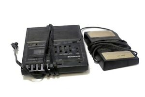 Panasonic Rr 930 Microcassette Transcriber Recorder Foot Pedal Power Cord