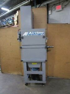 Airflow Systems V 2 Ap3 reg pg7 exh hop 5gal stand 2hp 480v 3ph Dust Collector