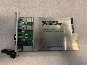 Ni National Instruments Pxi 4110 Dc Power Supply Used See Description