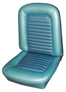 Mustang Standard Seat Upholstery For Front Buckets And Rear 1966