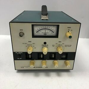 Fluke 931b True Rms Thermal Converting Differential Ac Voltmeter Tested