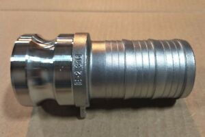 3 Type 300e Stainless Steel 316 Male Camlock X Hose Barb