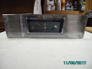 1963 Pontiac Star Chief Clock Sunvisors And Arm Rests