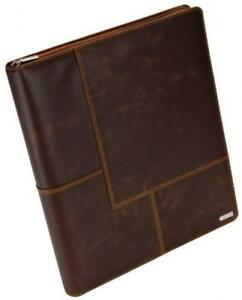 Rolodex Explorer Collection Business Card Book 240 card Brown 22337