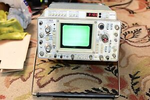 Textronix 464 Oscilloscope With Tektronix Dm40