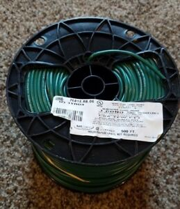 Electrical Carol Brand Wire 500 Feet 14 Awg Stranded Mtw 600 Volt Copper