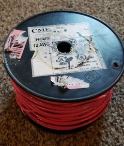 Electrical Cme Wire 500 Feet 12 Awg Stranded Thhn Wire 600 Volt Copper