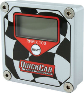 Quickcar Racing Products 15000 Rpm Quicktach Digital Tachometer P n 611 099