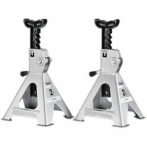 Aluminum Stack Jack Stand 2 Ton W Dual Purpose Handle For Auto Suv Truck Service