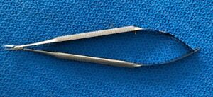 S t B 18 10 Microsurgical Scissors Round Handle Spring Action 90 Day Warranty