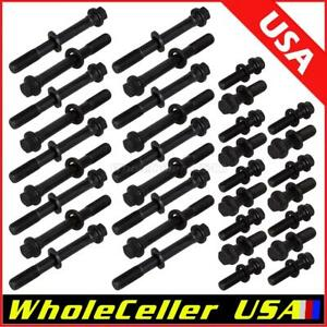 34pcs Cylinder Head Bolts For Sbc Chevrolet Pontiac 350 383 400