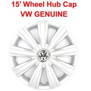 Vw Genuine 15 Wheel Hub Cap For Jetta 2011 2018