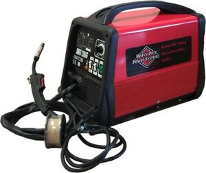 Mig Welder Gas Or Gasless Automatic Feed Welding Machine 120v Includes Tips