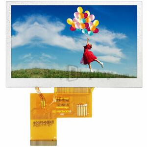 4 3 Inch 800x480 Ips Tft Lcd Module All Viewing Optional Touchscreen Display