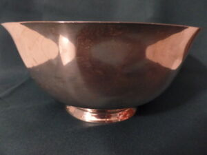Heavy Dominik Haff Revere Repro 7 3 4 X 3 3 4 Sterling Silver Bowl 18 Troy Oz