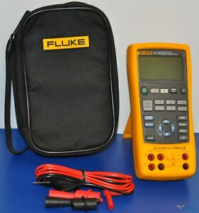 Fluke 725 Multifunction Process Calibrator Nist Calibrated With Data Warranty