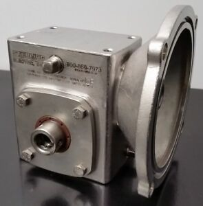 Sterling Electric Right Angle Gear Reducer S2133hq03056621 30 1 Ratio stainless