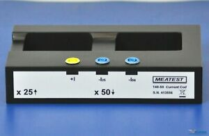 Meatest 140 50 Current Coil For Fluke Clampmeter Calibration x25 X50 1500a