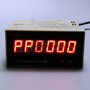 6 Digital Led Grating Encoder Accumulator Frequency Counter Meter Ac 220v Hb961