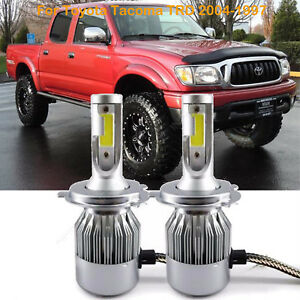 For Toyota Tacoma Trd 2006 1997 Led Headlight Conversion Kit Bulbs Car H4 9003
